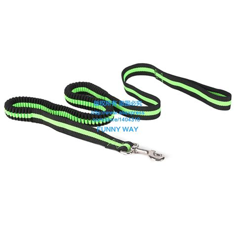 rubber sting dogs bungee lead ropes elastic rubber