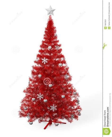 roter weihnachtsbaum roter weihnachtsbaum stockbild bild 16813501