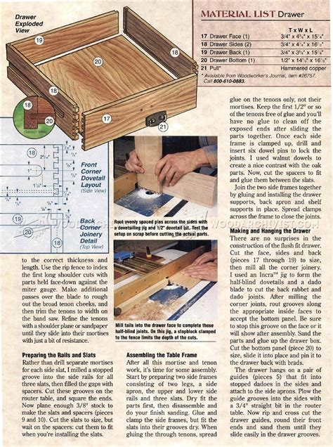 arts and crafts coffee table plans arts crafts end table plans woodarchivist