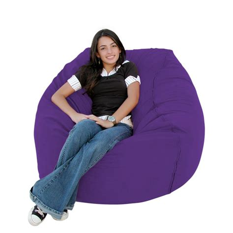 purple bean bag chairs purple bean bag chair chairs for fuzzy adults