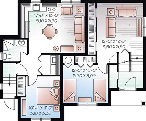 basement in suite floor plans in suite house plans home design 3323b