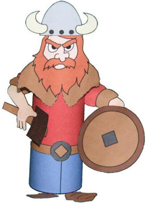 viking crafts for viking toilet paper roll craft