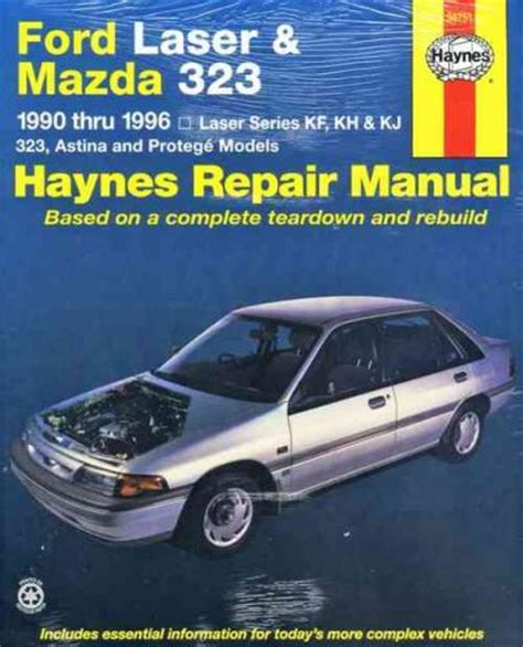 ford laser mazda 323 1990 1996 haynes repair manual workshop car manuals repair books