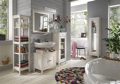 Badezimmermöbel Paula by Badm 246 Bel Set 5teilig Kiefer Massiv Wei 223 Lasiert