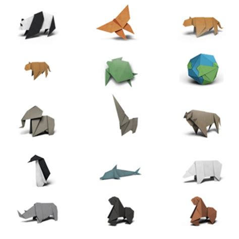 wwf origami wwf origami stickers for ios 10 messages some design