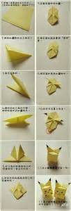 how to make pikachu origami 1000 images about on eevee evolutions