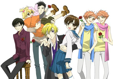 ouran highschool host club think small big best triangles in anime