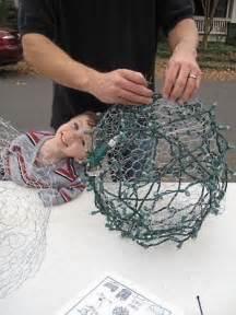 how to make outdoor balls how to make outdoor light balls great idea to lighten up