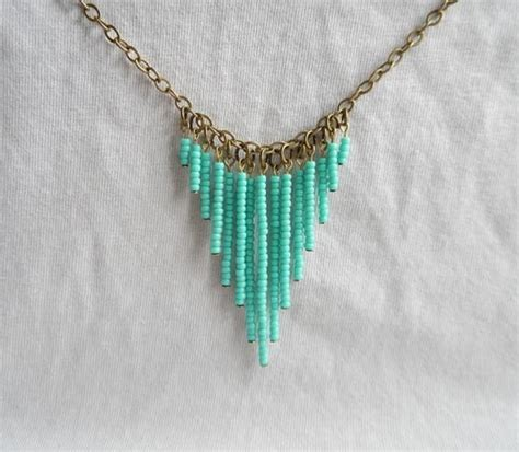 seed bead diy 25 unique seed bead necklace ideas on lariat