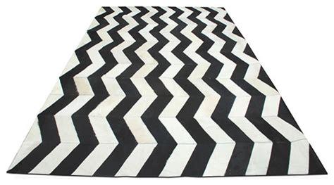 black and white modern rug herringbone cowhide rug black white modern rugs