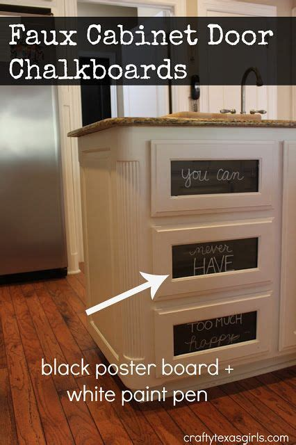 diy chalkboard kitchen cabinets kitchen cabinet chalkboards diy how to turn your glass