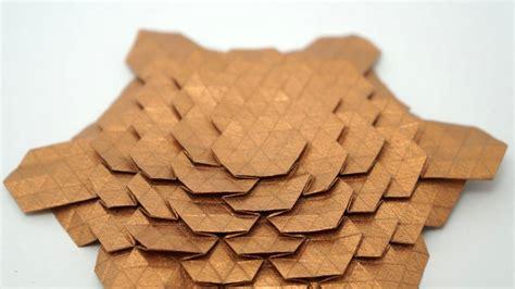 origami tesselations origami spread hex tessellation eric gjerde normal
