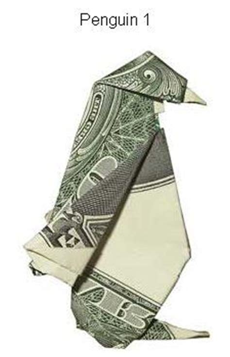 dollar bill origami penguin 1000 images about origami money on fighter