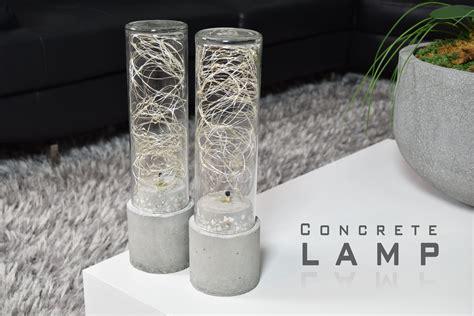 diy light diy concrete l led string lights