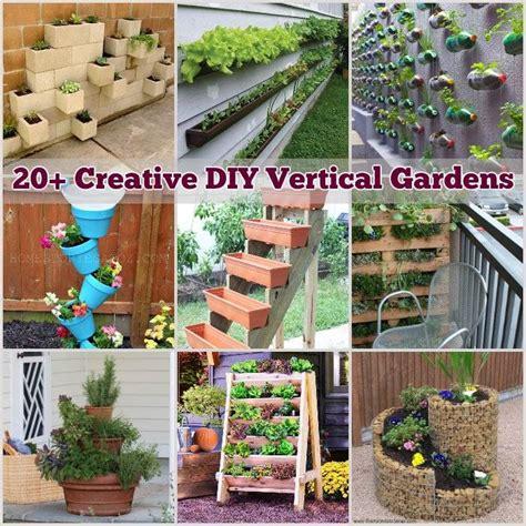 home vertical garden 20 creative diy vertical gardens for your home