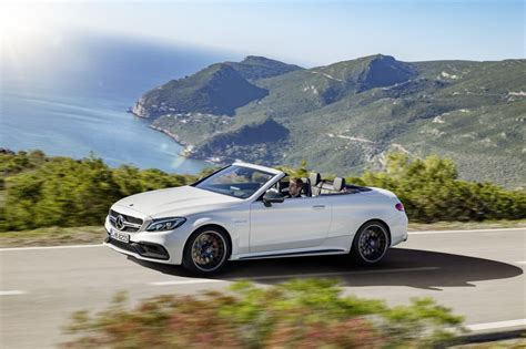 Mercedes In Ny by Salon De New York Mercedes D 233 Voile La C63 Amg Cabriolet