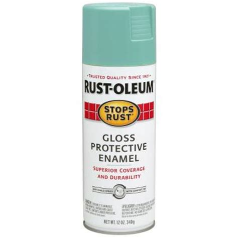 turquoise paint colors home depot rust oleum stops rust 12 oz gloss light turquoise