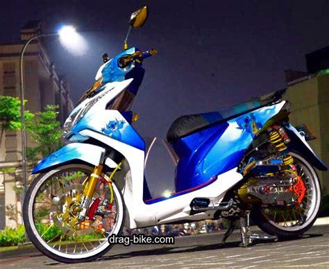 Modif Motor Matic Beat F1 by Modif Honda Beat Fi Merah Putih Automotivegarage Org