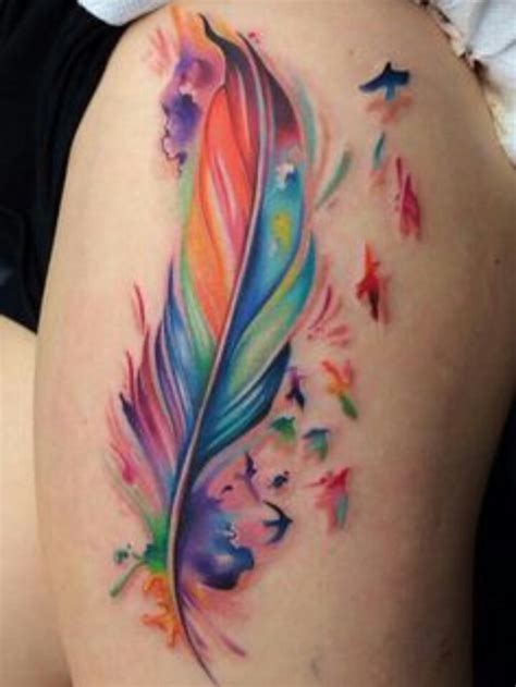 feather bird tattoos designs ideas and meaning tattoos