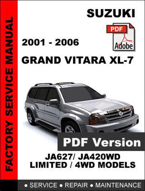 free service manuals online 2007 suzuki grand vitara electronic toll collection service manual 2003 suzuki xl 7 service manual free 2001 2002 2003 2004 2005 2006 suzuki