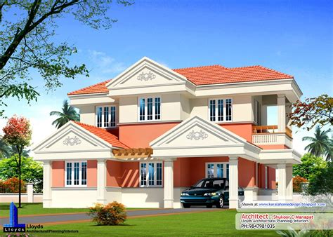 kerala model house plans with elevation kerala home plan elevation and floor plan 2254 sq ft
