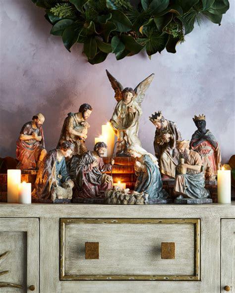 italian nativity italian style nativity 5 set