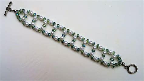 beading beginners easy and diy bracelet beaded bracelet pattern for