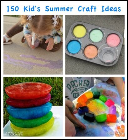 kid crafts for summer 150 creative summer crafts for homestead survival