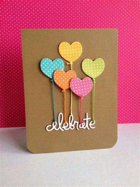 card made easy handmade birthday cards pink lover