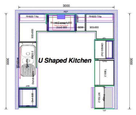u shaped kitchen layout ideas kitchen design ideas
