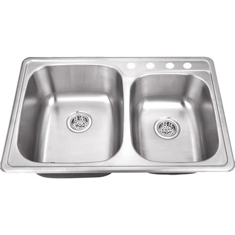 the kitchen sink company ipt sink company drop in 33 in 4 stainless steel