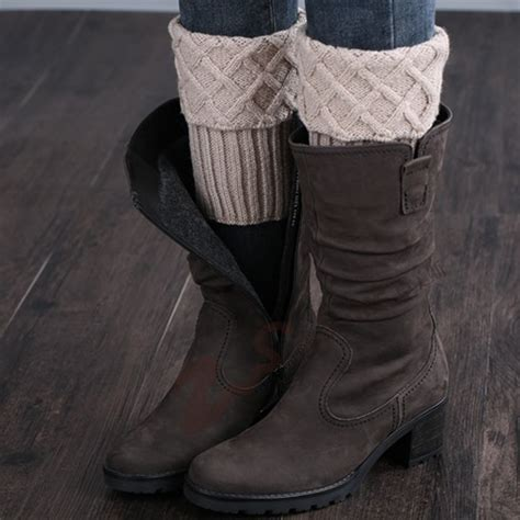 knit leg warmers for boots knitted leg warmers for boots promotion shop for