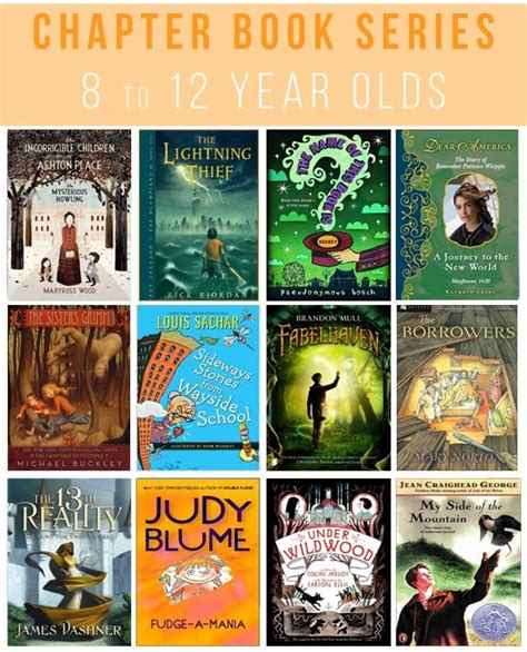 picture books for 1 year olds 25 great chapter book series for 8 to 12 year olds some