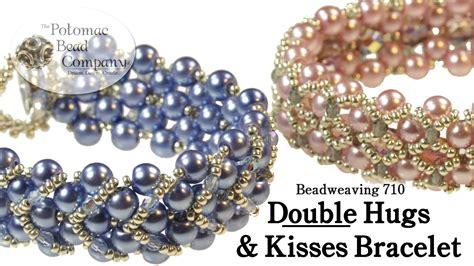 the bead company make a hugs kisses bracelet