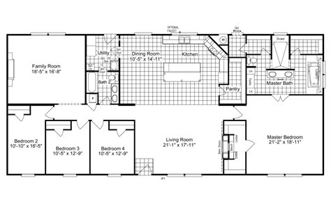 palm harbor mobile home floor plans view the magnum home 76 floor plan for a 2584 sq ft palm