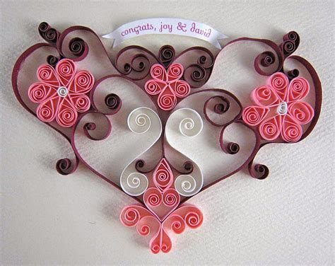 handmade craft ideas paper quilling gift card from paper quilling projects ideas