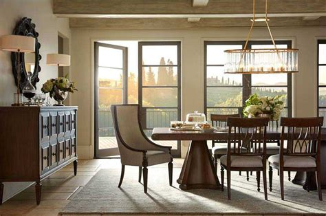 stanley furniture dining room set stanley furniture villa couture dining room set sl5101136set