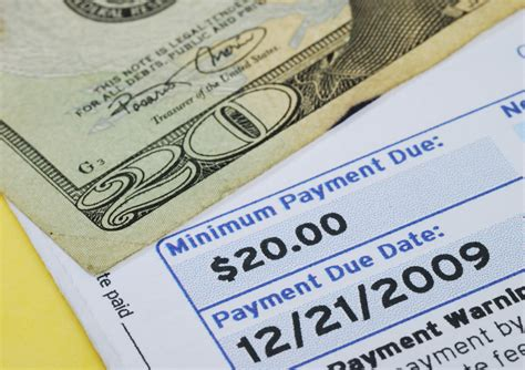 minimum payment on a credit card credit cards