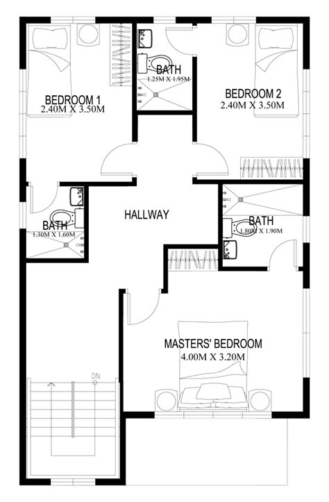 2 story house floor plans two story house plans series php 2014004