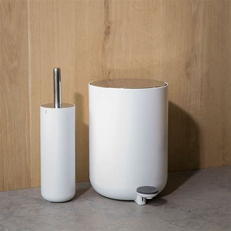 Top 3 By Design Toilet Brush by Top3 By Design Menu Menu Norm Toilet Brush White