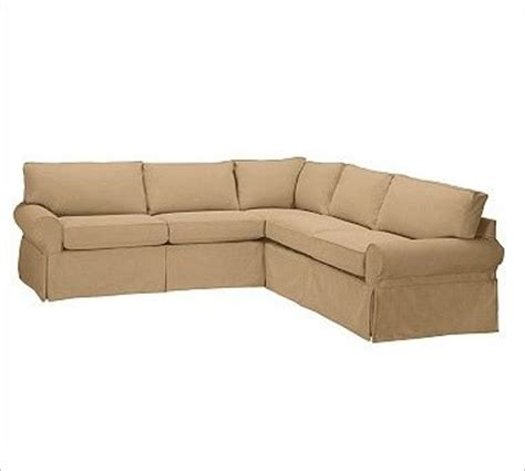 slipcover for l shaped sofa pb basic 2 l shaped sectional slipcover textured