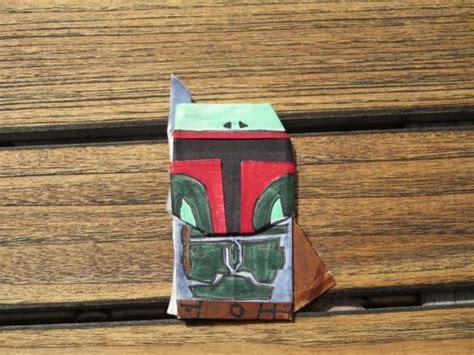 origami boba fett sf tylers origami boba fett and jangomandalorian challenge