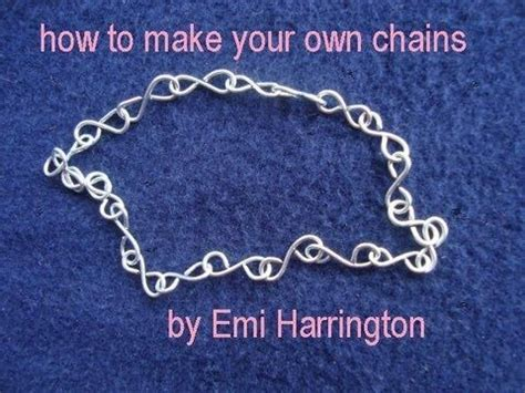 make your own silver jewelry 17 best ideas about handmade chain jewelry on