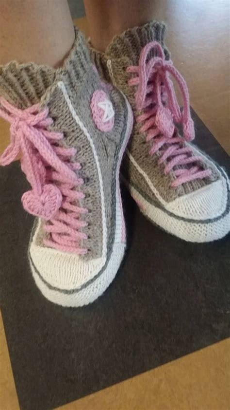 knitted sneakers pattern knitted sneakers pattern reimagines converse shoes into