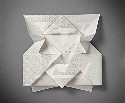 origami invitation louis vuitton origami invitation issue journal of