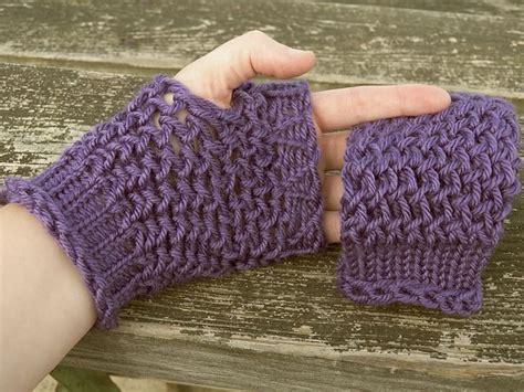 loom knitting fingerless gloves pin by jones on crafts