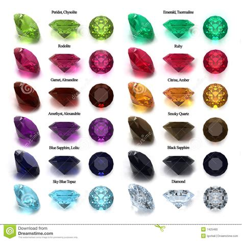 gems and big unique gems collection stock photo image of