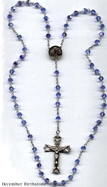 rosary information rosary and chaplets december ultimate birthstone rosary