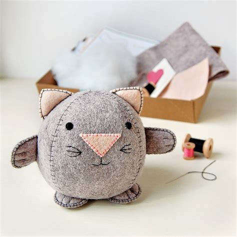 craft kits make your own kitten craft kit by clara and macy