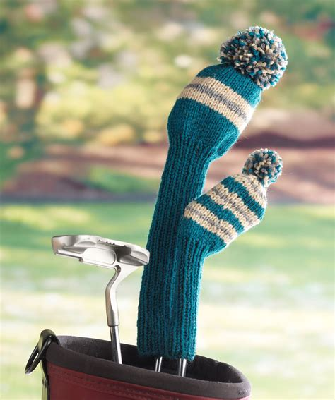 knitted headcovers for golf clubs patterns knit golf covers pattern a knitting